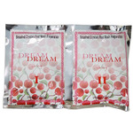 Dream Smashed Crystals Jelly Pedicure - CHERRY 2 Packs - Activator + Dissolver - 50 Grams Each (13260-CHE)