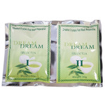 Dream Smashed Crystals Jelly Pedicure - GREEN TEA 2 Packs - Activator + Dissolver - 50 Grams Each (13260-GRE)