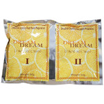 Dream Smashed Crystals Jelly Pedicure - LEMON 2 Packs - Activator + Dissolver - 50 Grams Each (13260-LEM)