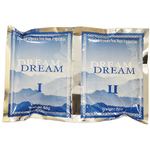 Dream Smashed Crystals Jelly Pedicure - OCEAN 2 Packs - Activator + Dissolver - 50 Grams Each (13260-OCE)