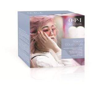 OPI GelColor Soak Off Gel Polish - GC246 Tokyo Collection Add-On Kit #2 - 6 Pieces (GC246)