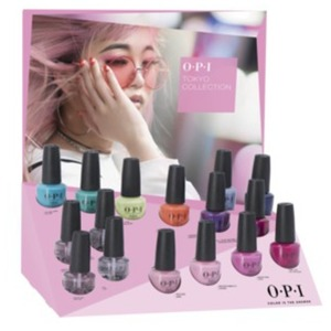 OPI Nail Lacquer - #DCT53 Tokyo Collection Edition B - 16 Piece Chipboard Display (#DCT53)