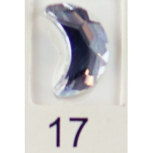 Stardust Rhinestone Crystallized Nail Art - Clear #17 Bag of 20 Pieces (20816-Clear17)