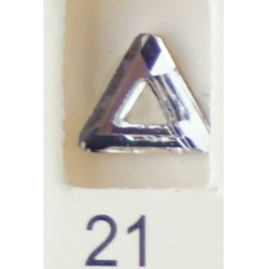 Stardust Rhinestone Crystallized Nail Art - Clear #21 Bag of 20 Pieces (20816-Clear21)