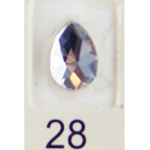 Stardust Rhinestone Crystallized Nail Art - Clear #28 Bag of 20 Pieces (20816-Clear28)