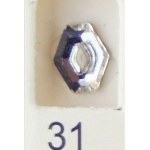 Stardust Rhinestone Crystallized Nail Art - Clear #31 Bag of 20 Pieces (20816-Clear31)