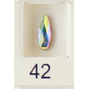 Stardust Rhinestone Crystallized Nail Art - Holo Rainbow #42 Bag of 20 Pieces (20816-Holo42)