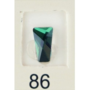 Stardust Rhinestone Crystallized Nail Art - Green Titanium #86 Bag of 20 Pieces (20816-Green86)