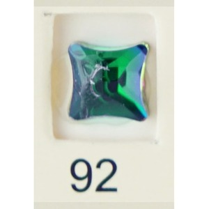 Stardust Rhinestone Crystallized Nail Art - Green Titanium #92 Bag of 20 Pieces (20816-Green92)