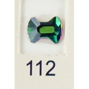 Stardust Rhinestone Crystallized Nail Art - Green Titanium #112 Bag of 20 Pieces (20816-Green112)