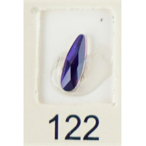 Stardust Rhinestone Crystallized Nail Art - Purple Ametrine #122 Bag of 20 Pieces (20816-Purple122)