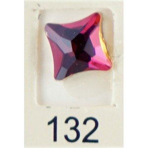 Stardust Rhinestone Crystallized Nail Art - Purple Ametrine #132 Bag of 20 Pieces (20816-Purple132)
