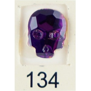 Stardust Rhinestone Crystallized Nail Art - Purple Ametrine #134 Bag of 20 Pieces (20816-Purple134)