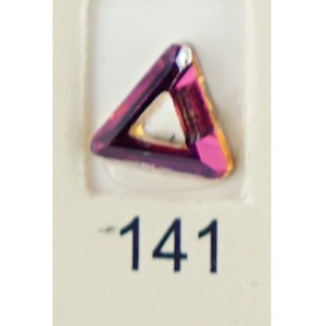 Stardust Rhinestone Crystallized Nail Art - Purple Ametrine #141 Bag of 20 Pieces (20816-Purple141)