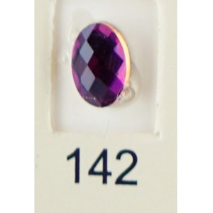 Stardust Rhinestone Crystallized Nail Art - Purple Ametrine #142 Bag of 20 Pieces (20816-Purple142)