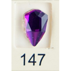 Stardust Rhinestone Crystallized Nail Art - Purple Ametrine #147 Bag of 20 Pieces (20816-Purple147)
