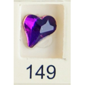 Stardust Rhinestone Crystallized Nail Art - Purple Ametrine #149 Bag of 20 Pieces (20816-Purple149)