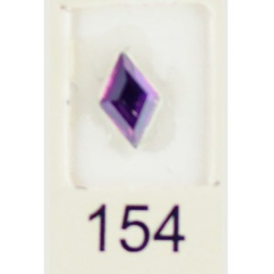 Stardust Rhinestone Crystallized Nail Art - Purple Ametrine #154 Bag of 20 Pieces (20816-Purple154)
