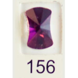 Stardust Rhinestone Crystallized Nail Art - Purple Ametrine #156 Bag of 20 Pieces (20816-Purple156)