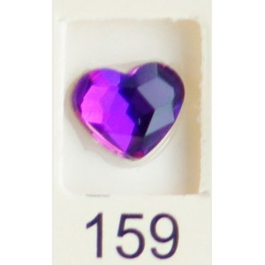 Stardust Rhinestone Crystallized Nail Art - Purple Ametrine #159 Bag of 20 Pieces (20816-Purple159)