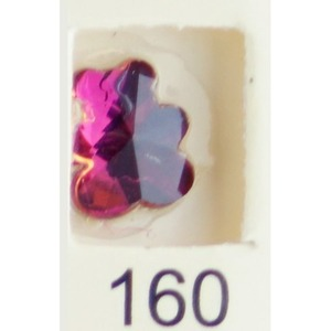 Stardust Rhinestone Crystallized Nail Art - Purple Ametrine #160 Bag of 20 Pieces (20816-Purple160)