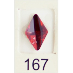 Stardust Rhinestone Crystallized Nail Art - Red Ruby #167 Bag of 20 Pieces (20816-Red167)