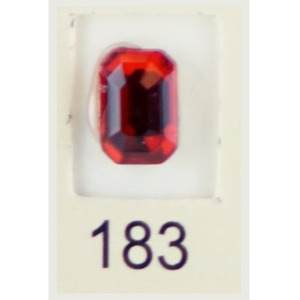 Stardust Rhinestone Crystallized Nail Art - Red Ruby #183 Bag of 20 Pieces (20816-Red183)