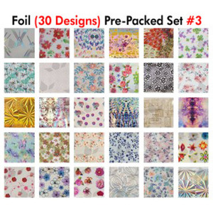 WaveGel Foil - 30 Pre-Packed Foil Designs #3 - GET 1 FREE BLINK GEL (20982-03)