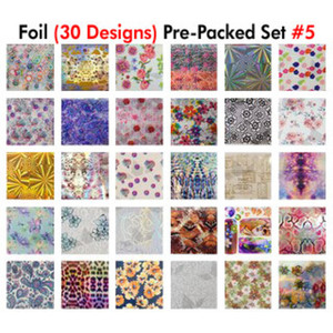WaveGel Foil - 30 Pre-Packed Foil Designs #5 - GET 1 FREE BLINK GEL (20982-05)