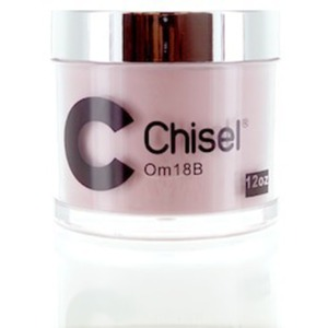 Chisel 2-in-1 Color Acrylic & Dipping Powder - OM18B 12 oz. Refill ()