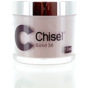 Chisel 2-in-1 Color Acrylic & Dipping Powder - SOLID 36 12 oz. Refill ()
