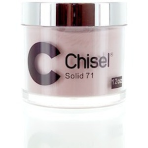 Chisel 2-in-1 Color Acrylic & Dipping Powder - SOLID 71 12 oz. Refill ()