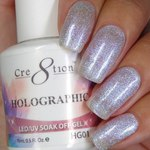 Cre8tion - Holographic Soak Off Gel 0.5 oz. - HG01 (HG01)
