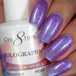 Cre8tion - Holographic Soak Off Gel 0.5 oz. - HG02 (HG02)