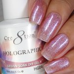 Cre8tion - Holographic Soak Off Gel 0.5 oz. - HG04 (HG04)