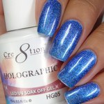 Cre8tion - Holographic Soak Off Gel 0.5 oz. - HG05 (HG05)