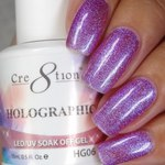 Cre8tion - Holographic Soak Off Gel 0.5 oz. - HG06 (HG06)