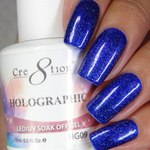 Cre8tion - Holographic Soak Off Gel 0.5 oz. - HG09 (HG09)