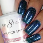 Cre8tion - Holographic Soak Off Gel 0.5 oz. - HG10 (HG10)