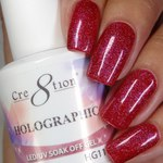 Cre8tion - Holographic Soak Off Gel 0.5 oz. - HG11 (HG11)