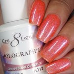 Cre8tion - Holographic Soak Off Gel 0.5 oz. - HG12 (HG12)