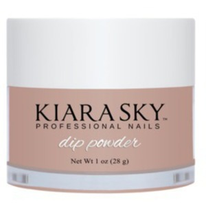 Kiara Sky Dip Powder - In The Nude Collection - Taup-less - #D608 1 oz. (21220)