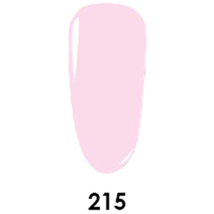WaveGel Matching Soak Off Gel Polish & Nail Lacquer - Eskimo Kiss - W215 0.5 oz. Each (11490-W215)