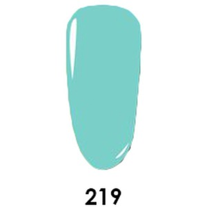 WaveGel Matching Soak Off Gel Polish & Nail Lacquer - Elsa Castle - W219 0.5 oz. Each (11490-W219)