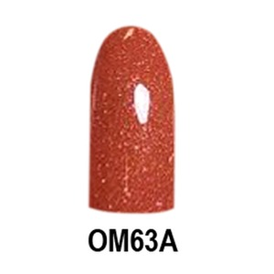 Chisel 2-in-1 Color Acrylic & Dipping Powder - OM63A - Ombre A Collection 2 oz. (OM63A)