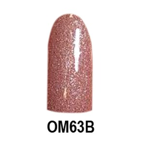 Chisel 2-in-1 Color Acrylic & Dipping Powder - OM63B - Ombre B Collection 2 oz. (OM63B)