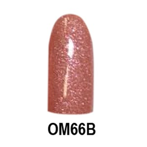 Chisel 2-in-1 Color Acrylic & Dipping Powder - OM66B - Ombre B Collection 2 oz. (OM66B)