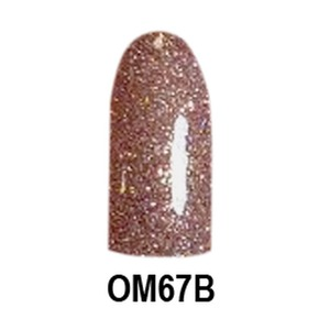 Chisel 2-in-1 Color Acrylic & Dipping Powder - OM67B - Ombre B Collection 2 oz. (OM67B)