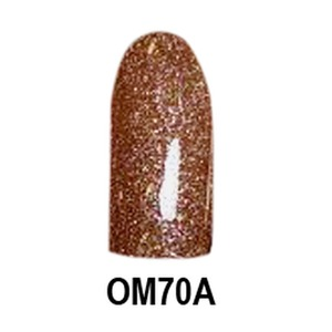 Chisel 2-in-1 Color Acrylic & Dipping Powder - OM70A - Ombre A Collection 2 oz. (OM70A)