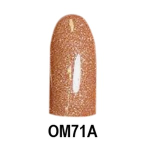 Chisel 2-in-1 Color Acrylic & Dipping Powder - OM71A - Ombre A Collection 2 oz. (OM71A)